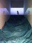 C installation in Nida Art Colony